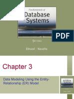 Data Modeling Using the ER Model