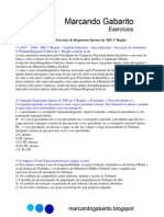 II Bateria de Exercícios Regimento Interno do TRF 1ª Região (Blog MarcandoGabarito.Blogspot)