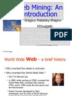 Wm1 Web Mining Intro