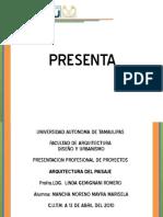 Arquitectura Del Paisaje ManchaMoreno