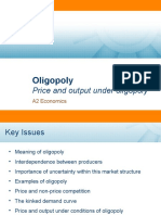 Oligopoly (Kinked Demand Curve) 2007