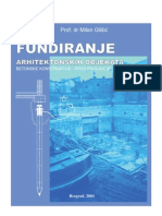 Fundiranje arhitektonskih objekata