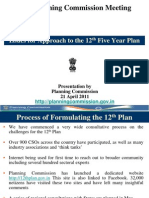 Approach Paper to 12th Five Year Plan
