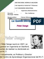 LA QUINTA DICIPLINA-PETER SEGEL