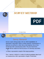 Survey and Historical Research