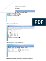 Algunas Ordenes Basicas en Linux