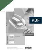 Notice Lave-Vaisselle Bosch