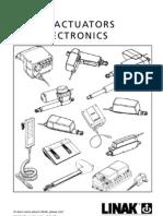 LINAK_Linear Actuators and Electronics_User Manual_Eng