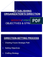 2nd Lecture-Establishing Direction