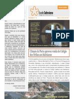Escola Salesiana - Colégio dos Órfãos do Porto - Newsletter 8 Maio Junho 10 11