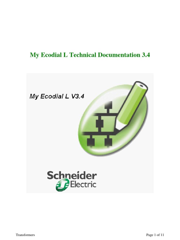 my ecodial schneider