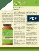 NatureBorn Whole Health Complex Product Profile