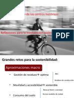 #usde #regurbana 8/8 |  El futuro de los centros históricos