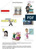 Giving Presentations Picture & Vocabulary