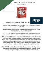 Encyclopedia of Card Tricks e