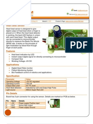 1157 Datasheet | Power Supply | Sensor