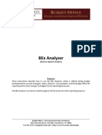 BEx Analyzer Instructions