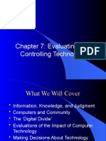 Chapter7-Evaluating and Controlling Technology