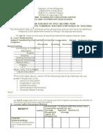 Survey Form Thesis