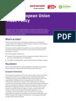 Inside EU Trade Policy
