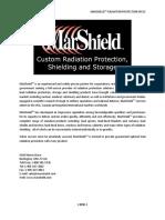 Mar Shield Radiation Protection Specs