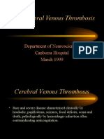 Cerebral Venous Thrombosis