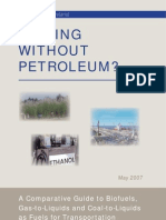 Driving Without Petroleum