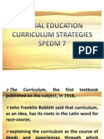 Lecture 1 in Curriculum
