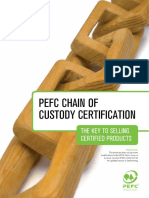 PEFC Chain of Custody Certification - The Key to Selling Certified Products