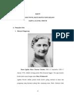 Bab IV Analisis Novel Mata Rantai Yang Hilang Karya Agatha Christie Ditinjau Tema, Perwatakan Dan Alur Serta Aplikasinya Dalam Pengajaran Bahasa Dan Sastra Di Sma
