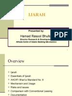 Ijara by Hamad Rasool