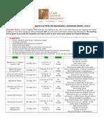 GMBA NOV10 - Term 3 -Exam Guidelines