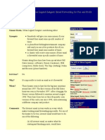 Urban Legend Zeitgeist- Email Forwarding for Fun and Profit Redux