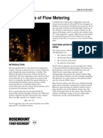 Fundamentals of Flow Metering