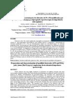 CVF Revista Matéria v. 13, n. 2, pp. 348 – 356, 2008 eletrodos de Pt e Pd modificados por