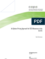 An Options Pricing Approach for CO2 Allowances in the EU ETS