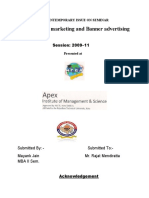 Affiliate Marketing and Banner Advertising 1