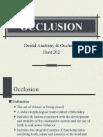 Occlusion