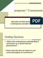 Contemporary Communism (2)