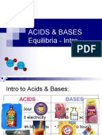 Acids Bases - Lesson 1 - Intro