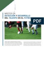 MÁSTER EN DETECCIÓN Y DESARROLLO DEL TALENTO EN EL FÚTBOL. R.MADRID