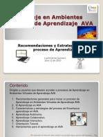 Aprendizaje en Ava