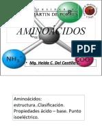 Clase Aminoácidos