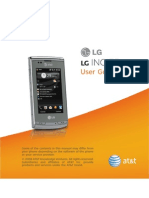 LG CT810 User Manual
