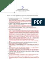 Citogenética Exercício 1 - respondido