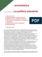 Tema 7. Politica Industrial, Final
