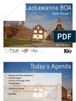Lackawanna Brownfield Opportunity Area Public Meeting Presentation April 28