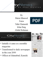 The City News Supply Chain