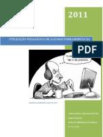 utilização pedagogica de algumas ferramentas da web 2.0