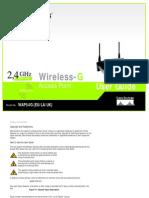 WAP54G-EU-LA-UK V3 User Guide Rev NC Web 0